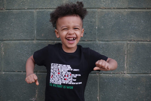 Til Victory is Won/Juneteenth Kids shirt