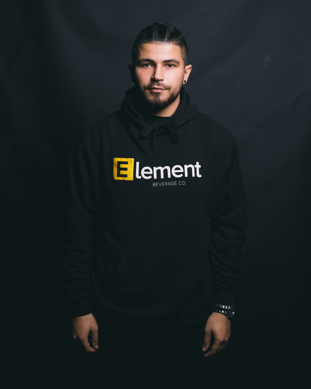 Original Black Element Hoodie