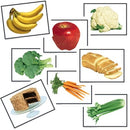 Food Photographic Learning Cards