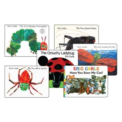 Favorite Eric Carle Board Books (Set of 6)