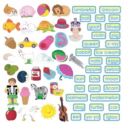 ABC Phonics Flannelboard Set