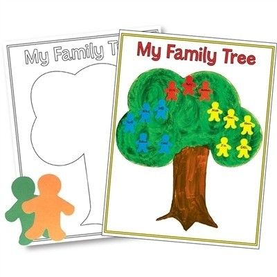 My Family Tree Poster Kit