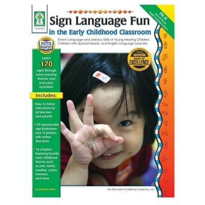 Sign Language In The Early Childhood Classroom Book