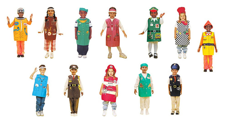 Community Helpers Career Dressups-Doctor