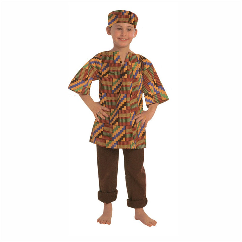 Multicultural Costume: West African Boy