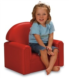 """Just Like Home"" Premium Vinyl Toddler Chair"