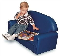"""Just Like Home"" Premium Vinyl Toddler Sofa"