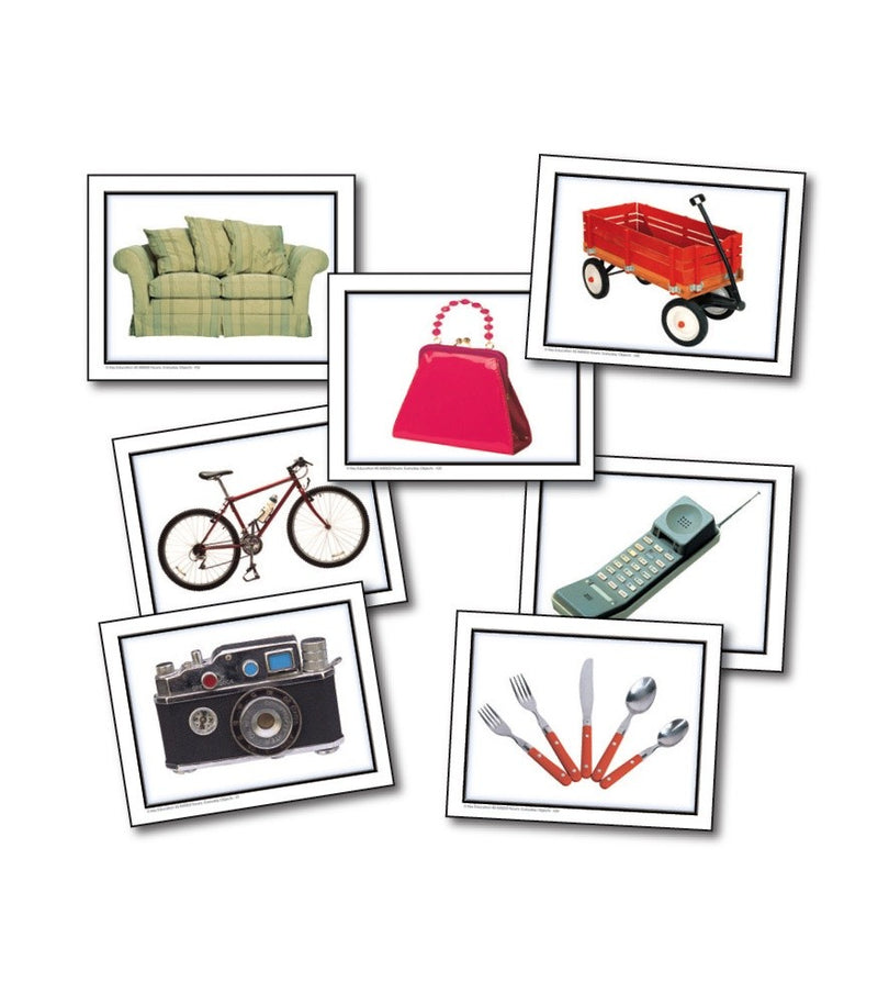 Photographic Learning Cards - Nouns: Everyday Objects