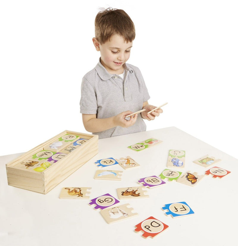 Self-Correcting Alphabet Puzzle Cards
