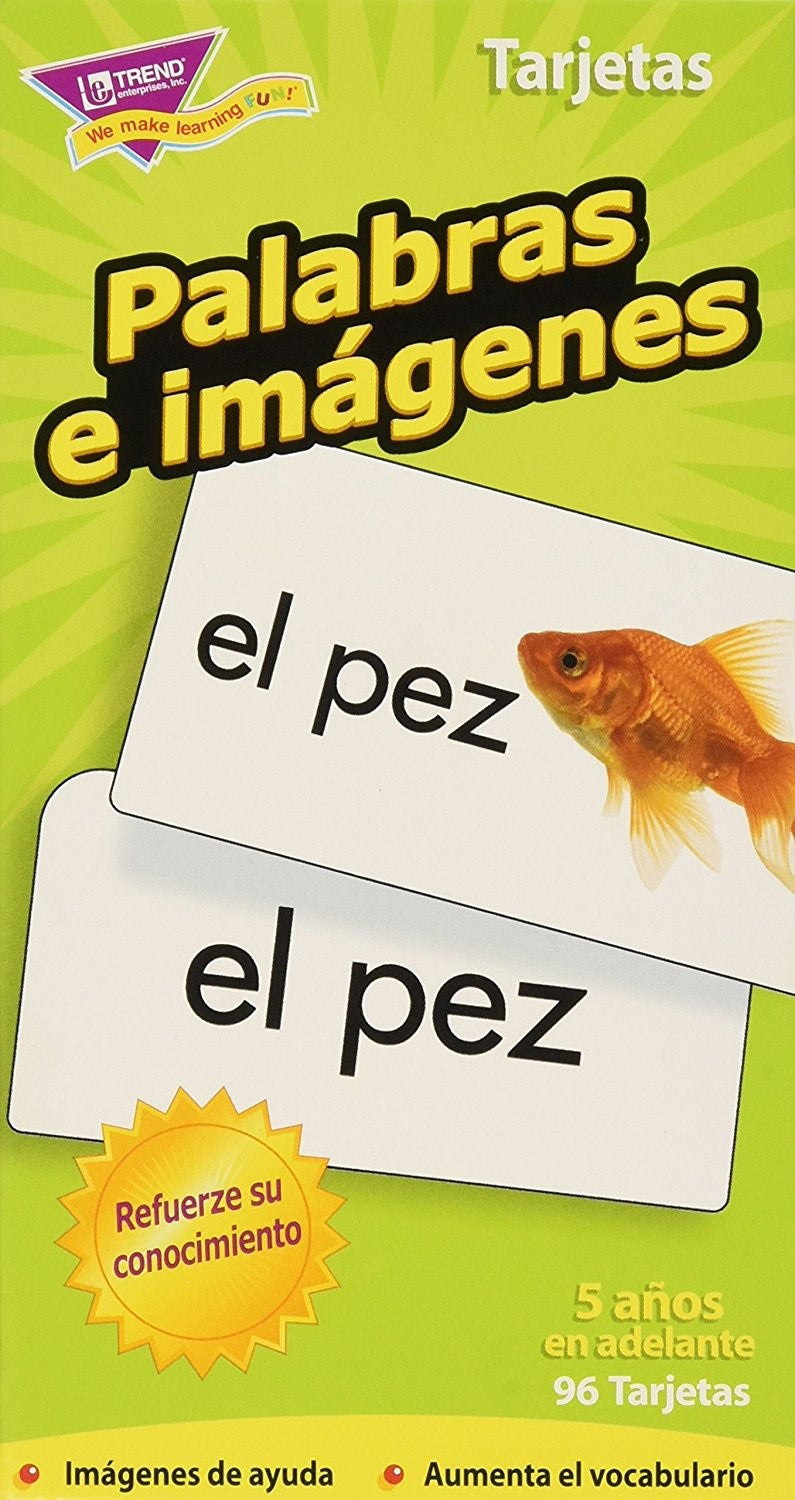 Skill Drill Flash Cards - Picture Words/Palabras e imágenes