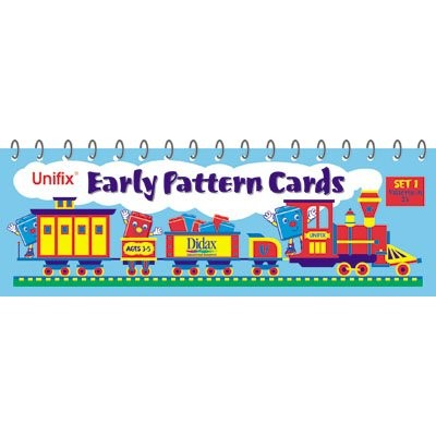 Unifix Early Pattern Cards - Set 1, Patterns in 2's
