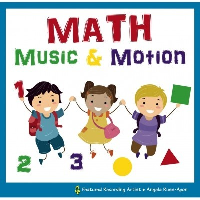 Math Music & Motion CD