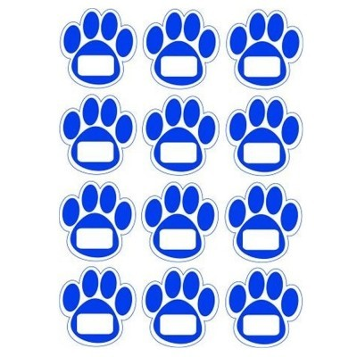 Magnetic Paw Print Cut-Outs