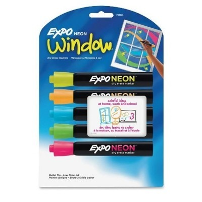 Expo Neon Dry Erase Markers (5 Colors)