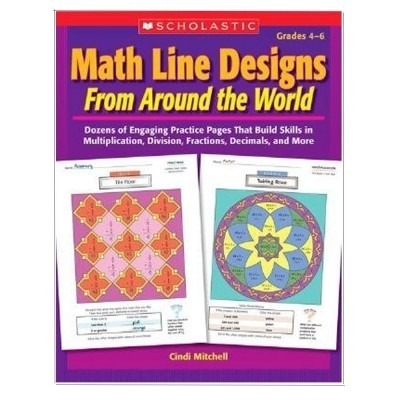 Math Line Designs From Around The World Gr. 4-6