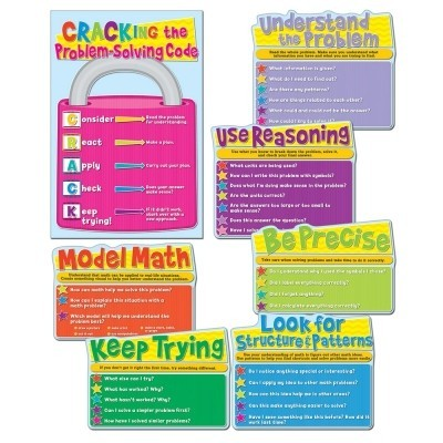 Common Core Math Bulletin Board Set