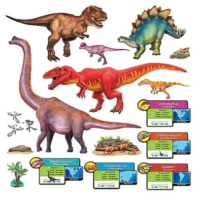 Discovering Dinosaurs Bulletin Board Set