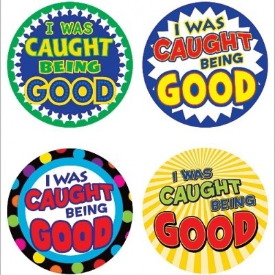 Caught Being Good Badges