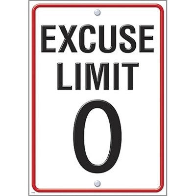 Argus® Poster: Excuse Limit 0