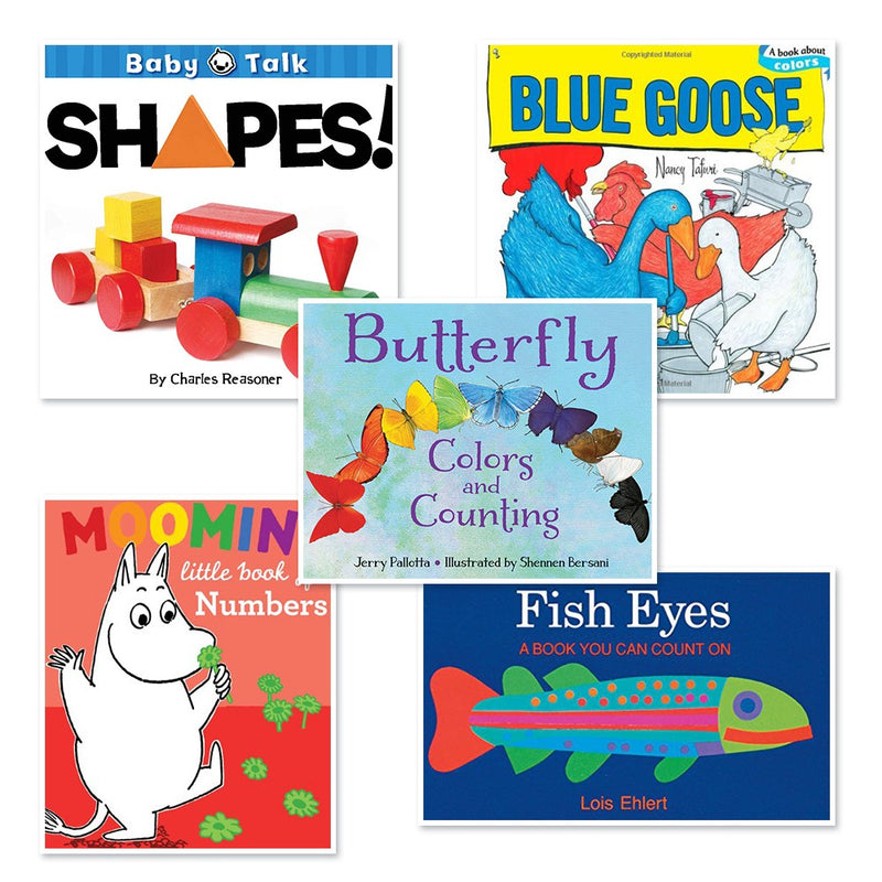 Colors , Numbers & Shapes Board Books