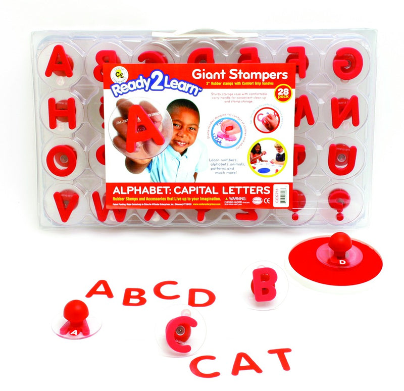 Alphabet Giant Stampers - Uppercase