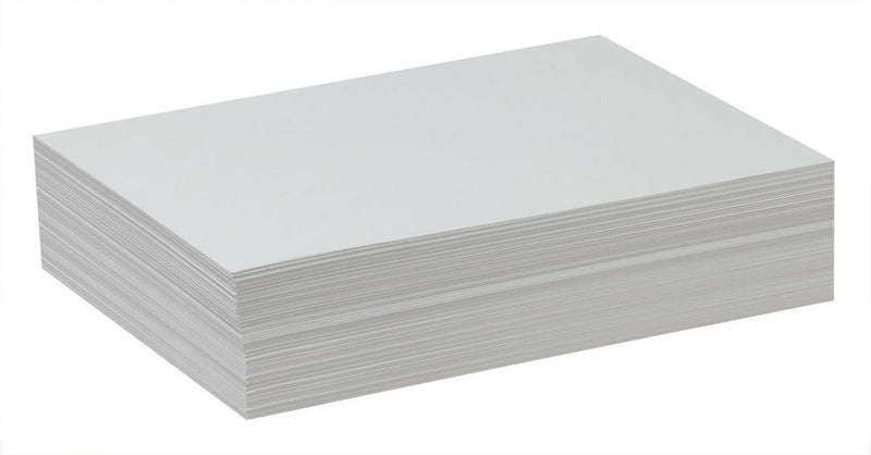 "White Drawing Paper 500 Sheets (9""x12"")"