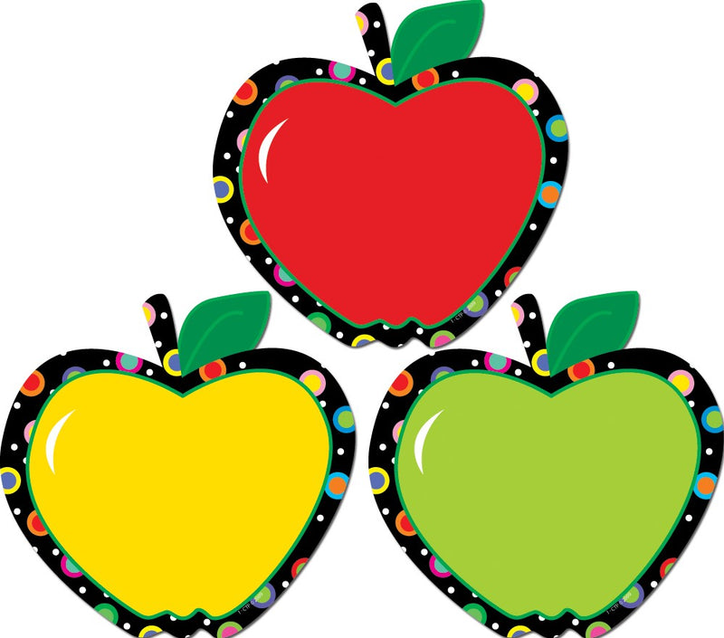 Poppin' Patterns Apples Cut-Outs