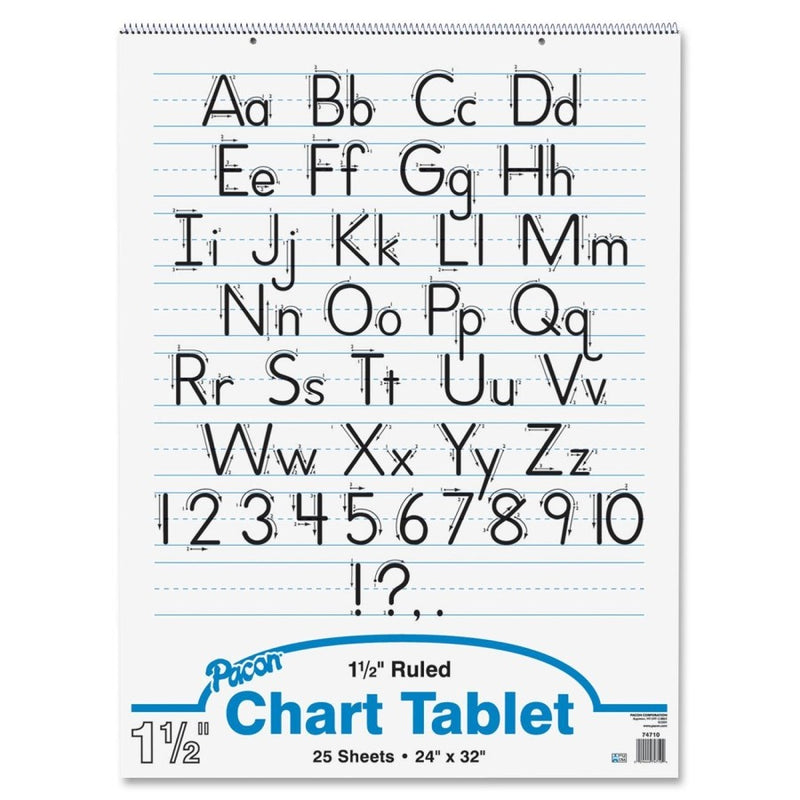 "Ruled Chart Tablet - 24"" x 32"""