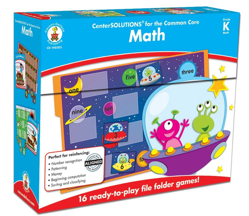 Math File Folder Games- Kindergarten
