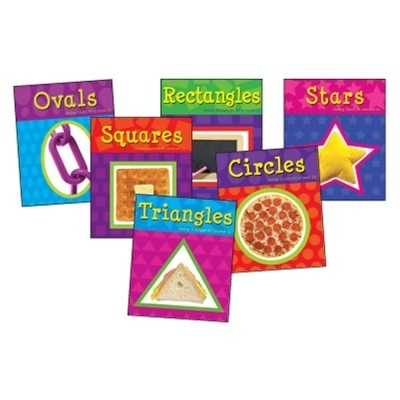 Shapes Paperback Book Set (6 books)