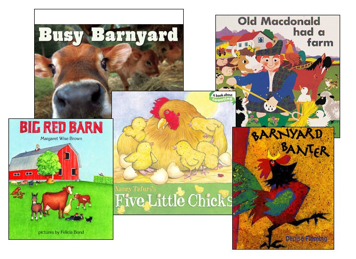 Fun on the Farm Board Books (Set of 5)