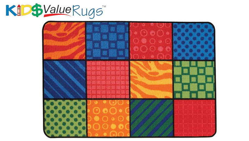 "Patterns at Play Value Rug (3' x 4'6"")"