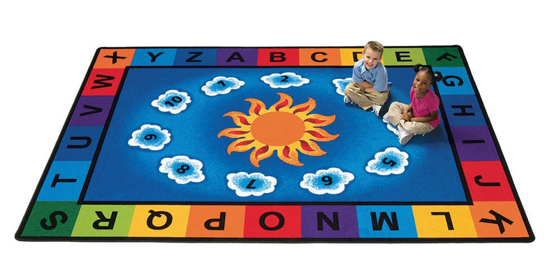 "Sunny Day Learn & Play Rug (4'5"" x 5'10"" Rectangle)"