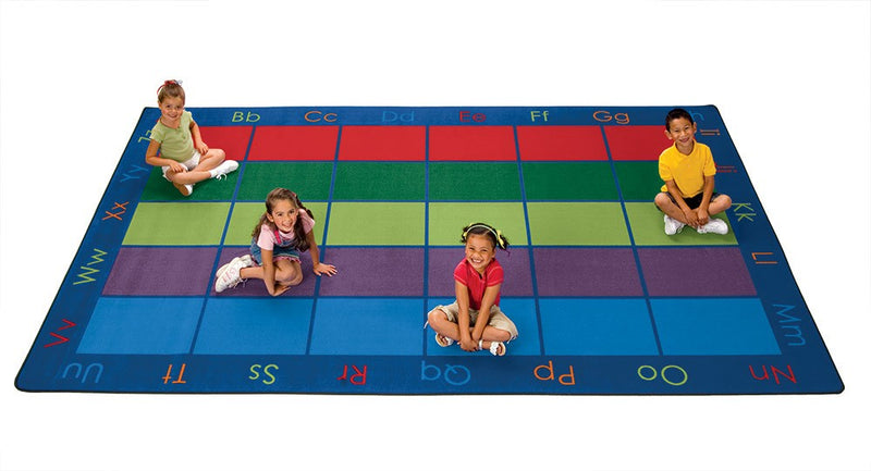 "Colorful Places Seating Rug (6' 9"" Rectangle)"
