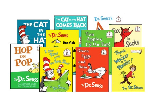 Dr. Seuss's Classic Library Hardcover Book Set