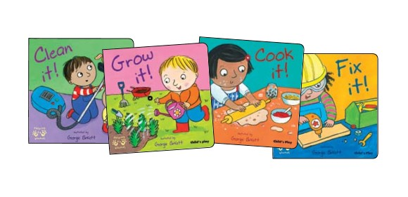 Helping Hands Board Book Set