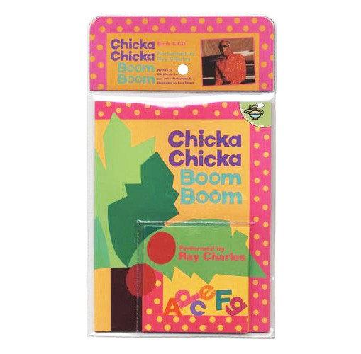 Chicka Chicka Boom Boom Book & CD Set