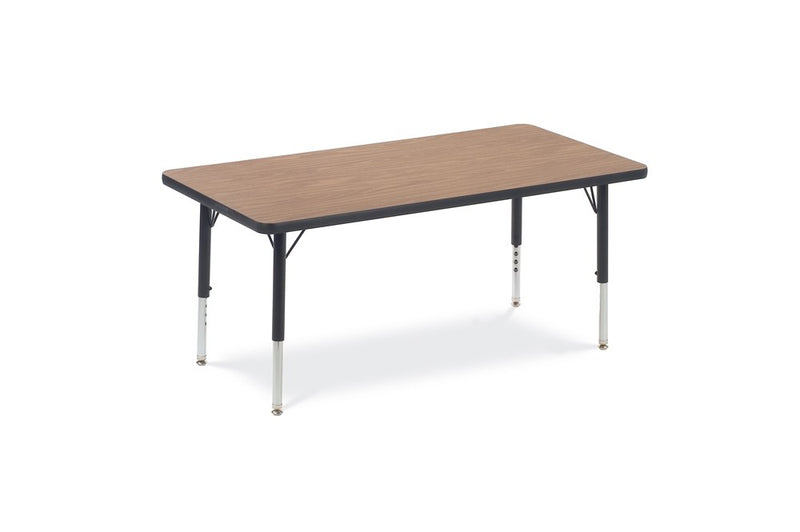 "Adjustable Activity Table (Rectangle), 17""-25""H, (24"" x 48"")"