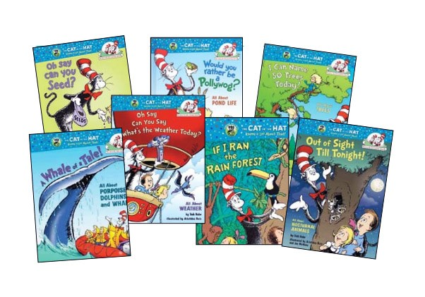 Cat In The Hat Science Hardcover Book Set