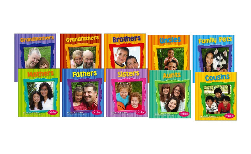 Family Relationships Book Set (10 Books)