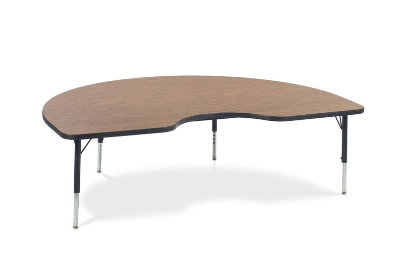 "Adjustable Activity Table (Kidney), 17""-25""H, (48"" x 72"")"