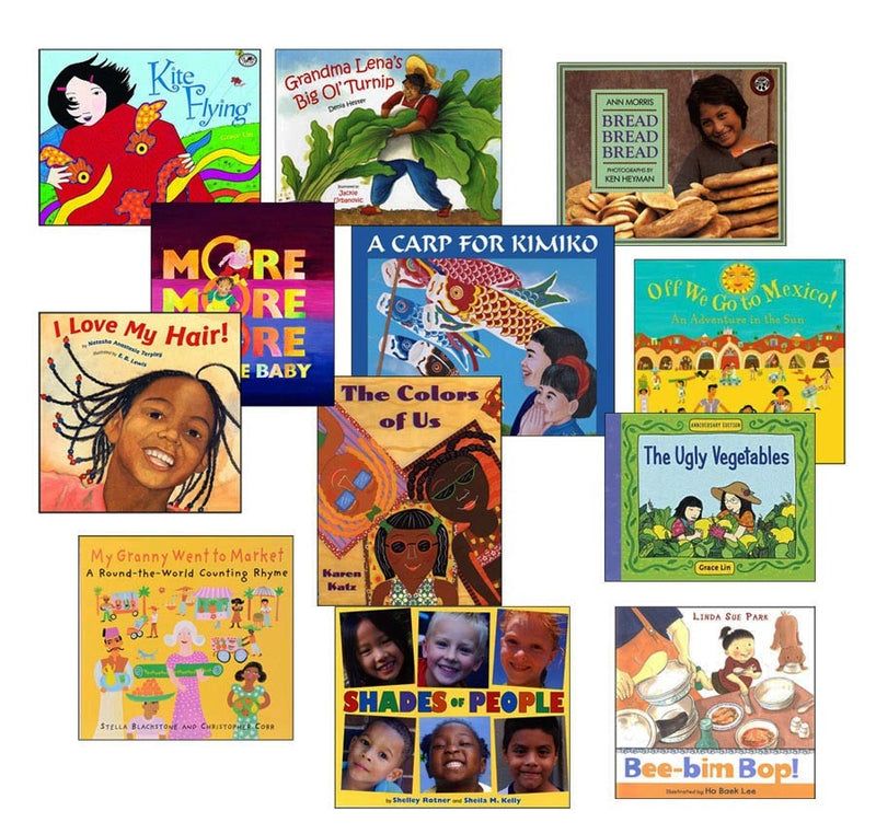 Multicultural Literature Stories Book Set