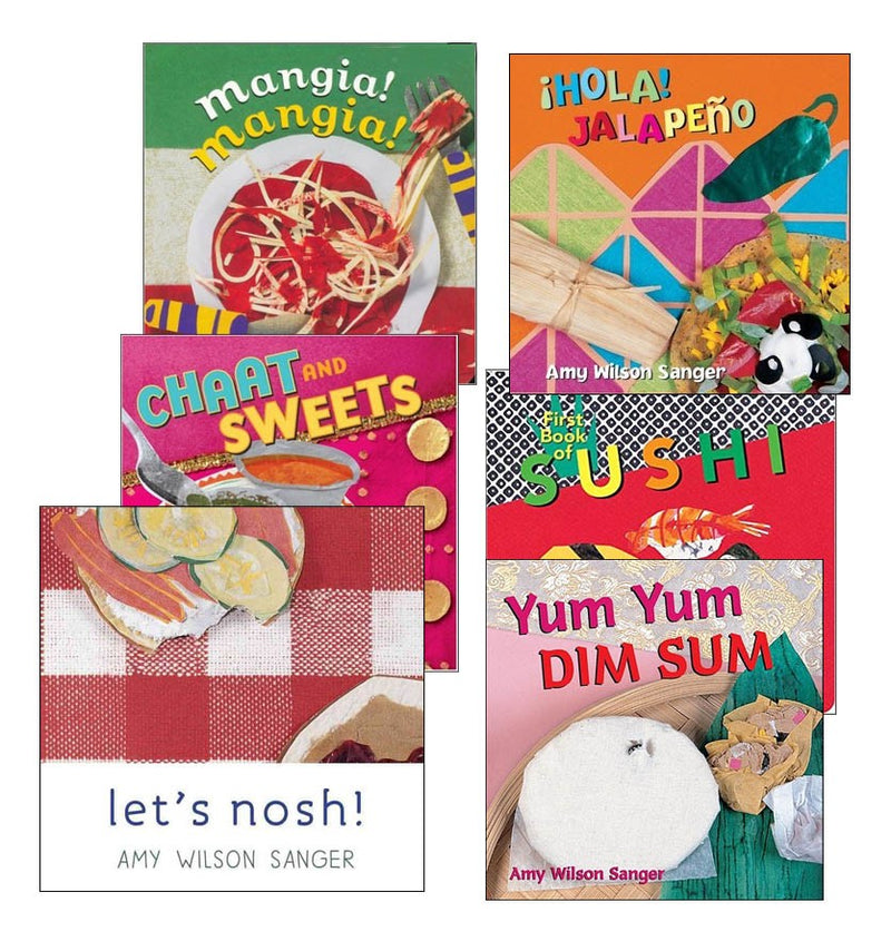Multicultural Food Board Book Set