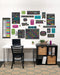Chalkboard Brights Classroom At Home Décor Kit