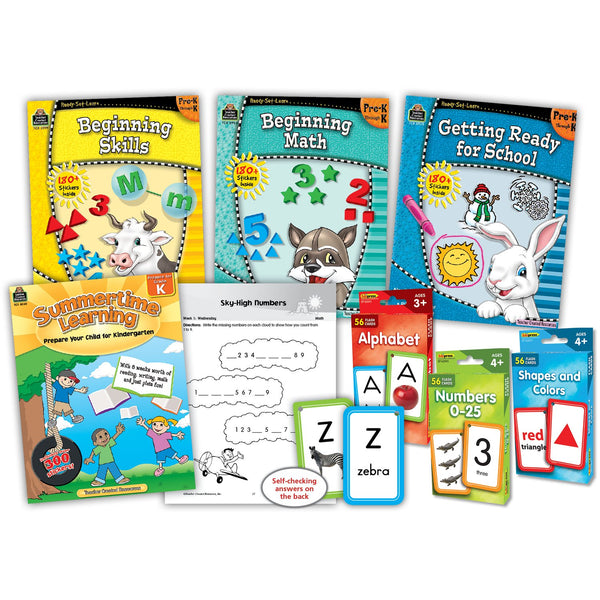 Learning At Home Pre-K Curriculum Kit