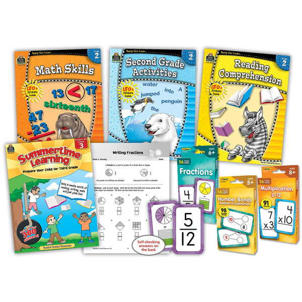 Learning At Home 2nd Grade Curriculum Kit