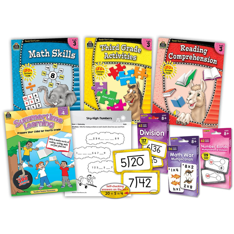Learning At Home 3rd Grade Curriculum Kit