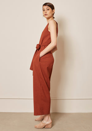 BRICK JUMPSUIT