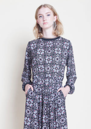 MEDLEY PRINT DRESS