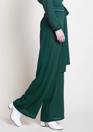 GREEN MEDLEY TROUSERS